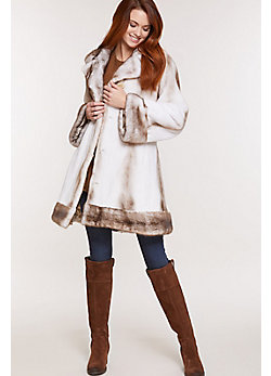 Women's Genevieve Mink Fur Coat
