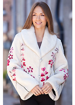 Women's Zuki Love Sheared Beaver Fur Jacket