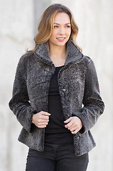 Matilda Reversible Shearling Sheepskin Jacket