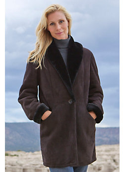 Women's Nicole Shearling Sheepskin Coat