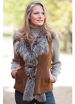 Women's Danni Shearling Sheepskin Vest