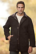 Men's Justin Shearling Sheepskin Coat