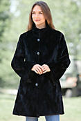 Gwendolyn Reversible Mink Fur Coat