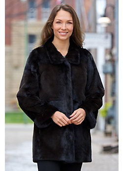 Palmira Reversible Mink Fur Coat