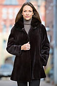 Women's Marguerite Sheared Mink Fur Jacket