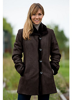 Women's Corinne Shearling Sheepskin Coat