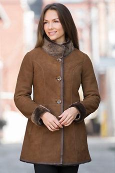 Adelaide Shearling Sheepskin Coat