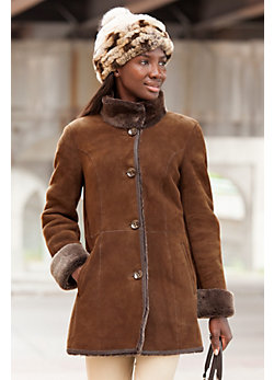 Women's Adelaide Shearling Sheepskin Coat