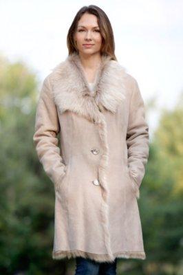 Whitney Toscana Sheepskin Coat