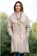 Women's Whitney Toscana Sheepskin Coat