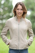 Women's Minerva Reversible Lambskin Leather Jacket