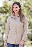 Women's Harper Reversible Lambskin Leather Shirt Jacket