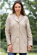 Women's Cadence Lambskin Leather Coat