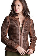 Women's Vanessa Lambskin Leather Jacket