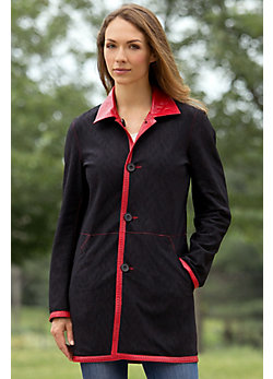 Women's Rosie Reversible Lambskin Leather Coat