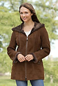 Women's Quinn Shearling Sheepskin Coat