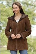 Quinn Shearling Sheepskin Coat