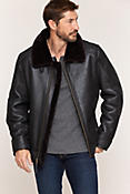 Brody Sheepskin Bomber Jacket