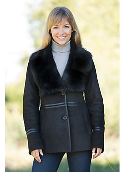 Women's Tessany Shearling Sheepskin Coat