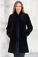 Paloma Reversible Danish Mink Fur Coat
