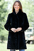 Selena Reversible Mink Fur Coat