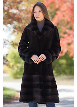 Women's Laguna Danish Mink Fur Coat