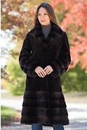 Laguna Danish Mink Fur Coat