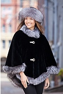 Anita Beaver Fur Cape