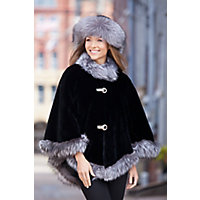 Anita Beaver Fur Cape $3,995.00 AT vintagedancer.com