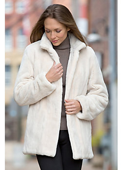 Women's Chiara Sheared Beaver Fur Jacket