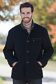 Men's Bay Bridge Quilted Cashmere-Blend Wool Jacket