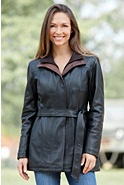 Women's Brenda Lambskin Leather Jacket