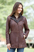 Women's Angelina Lambskin Leather Jacket