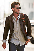 Men's Barcelona Lambskin Leather Jacket