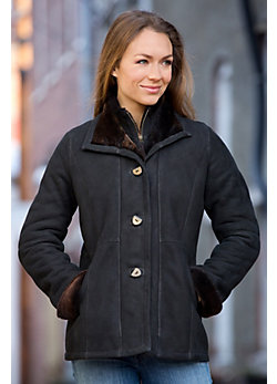 Women's Vienna Shearling Sheepskin Coat