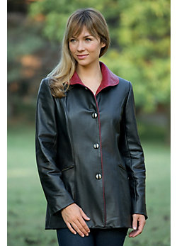 Women's Marlene Lambskin Leather Jacket