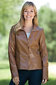 Monica Lambskin Leather Jacket