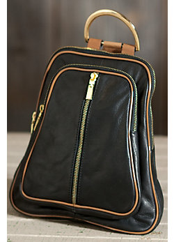 Women's Riley Leather Backpack