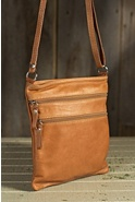 Women's Trinity II Calfskin Leather Crossbody Handbag