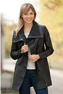 Women's EMU Coronet Bay Sheepskin Leather Jacket