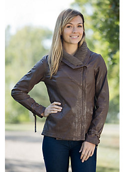 Women's EMU Drummond Cove Sheepskin Leather Jacket