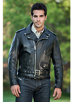 Men's Perfecto Cowhide Leather Motorcycle Jacket