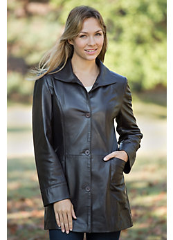 Women's Kaleigh Napa Leather Jacket