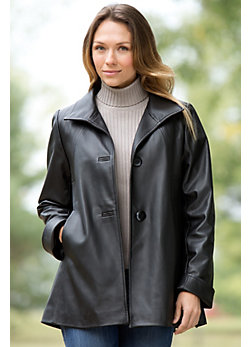Women's Bentley Lambskin Leather Jacket