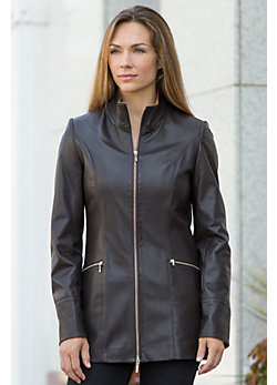Women's Kathlyn Napa Leather Jacket