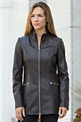 Women's Kathlyn Lambskin Leather Jacket