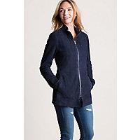 Image of Adele Reversible Italian Lambskin Suede Jacket