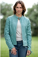 Women's Jackie Lambskin Leather Jacket