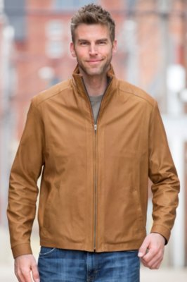 Manchester Lambskin Leather Jacket