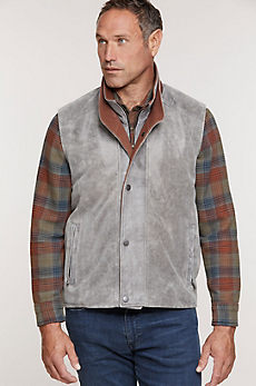 Borden Lambskin Leather Vest